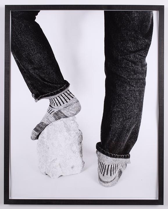 Static Movement Monochrome , 2015, silver gelatin print, 24 x 30 inches