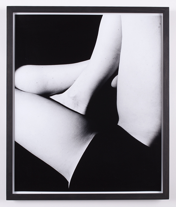 Crossed Legs, Inverted,  2015, silver gelatin print, 20 x 24 inches