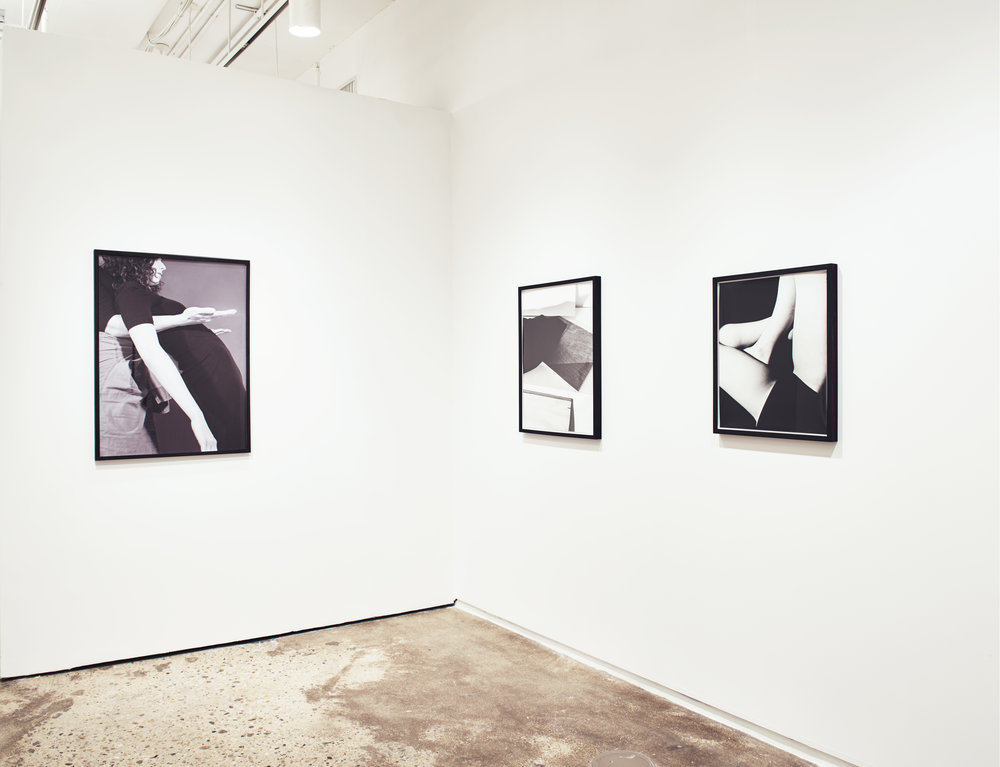 Installation View, Hunter MFA Thesis, 2015