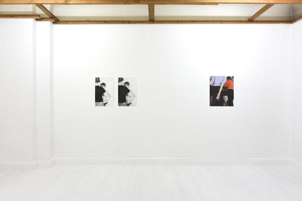 Installation view, fourseasonsberlin, 2018