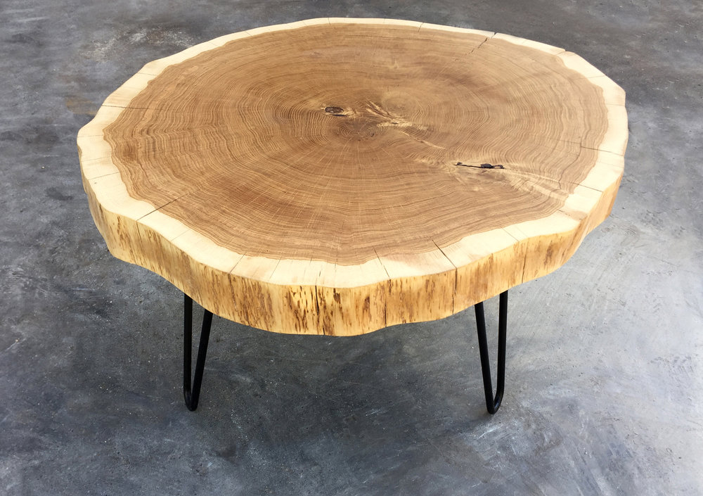 White Oak Round Coffee Table.jpg