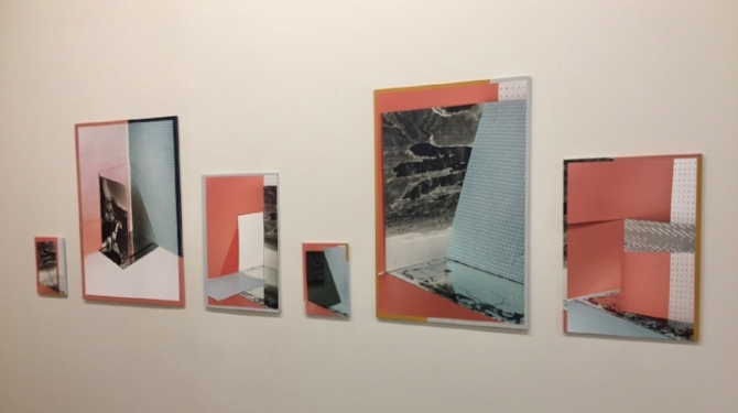 "Phillip Maisel,  For your ""Open""   3250, 2682, 3683-2, 3253-2, 3254, 3216  , all 2017 (L to R, installation view)"