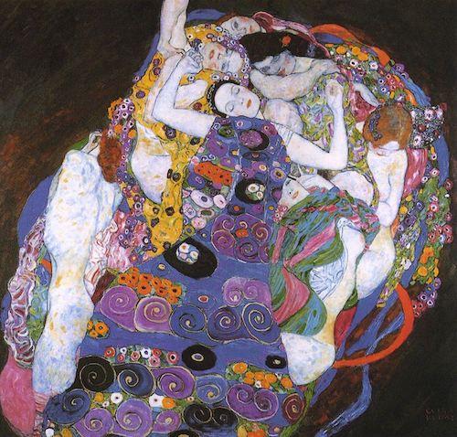 Die Jungfrau.  Gustave Klimt (1913)