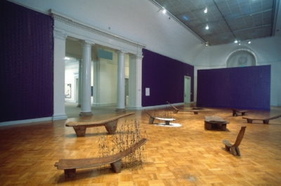 David Hammons, New Work, at SFMOMA (1994)