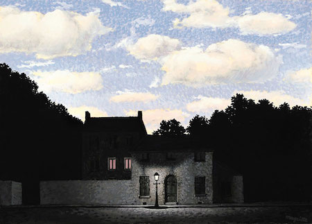 Rene Magritte,  The Empire of Light  (1953)