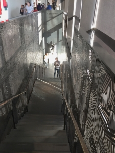 staircase to lower level