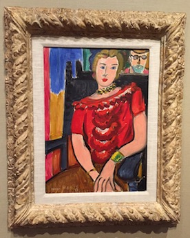 Henri Matisse,  The Red Blouse  (1939)