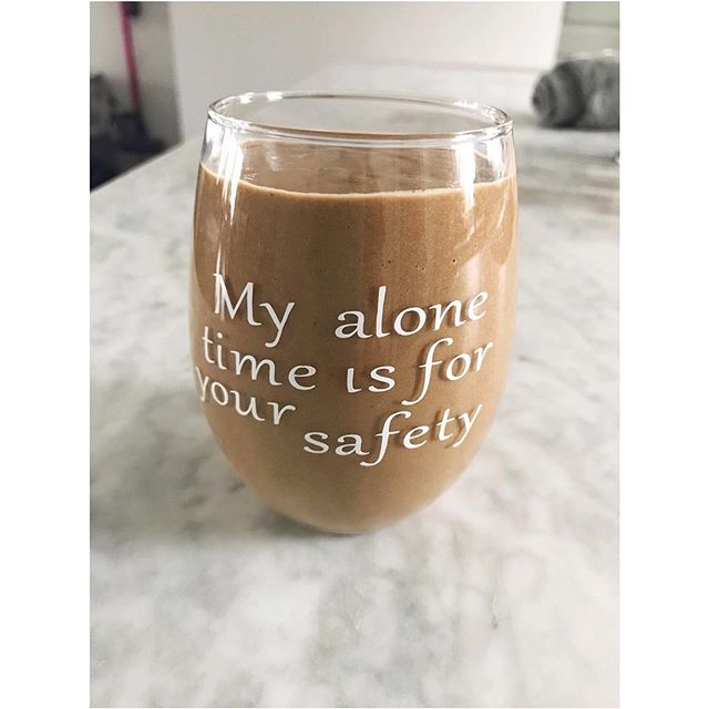 My Aunt gave me this glass for Christmas. Never has something been more true. The older I get the more solitude I need and enjoy. My introvert side is so prominent these days. What about you ? ⠀ .⠀ .⠀ .⠀ #theunviserehasyourback #postivethoughtspositivelife #ineedalltheanswers #imaskeptictoo #witchystuff #nashvillewellness #nashvillehealth #nashvilleblogger #nashvilleinfluencer #gabriellebenstein #eastnashvillewithlove #highgardentea #openyourmindandtherestwillfollow #selfcareroutine #holisticliving #glowfromwithin #theentireglow #makingnashvillewell #magic #hope #dontgiveup #mentalhealthwarrior #selfcaresunday #selfcareeveryday #selfcareisntselfish #selfcareishealthcare #wellnessadvocate #nontoxichome #healthyhome #doterraessentialoils