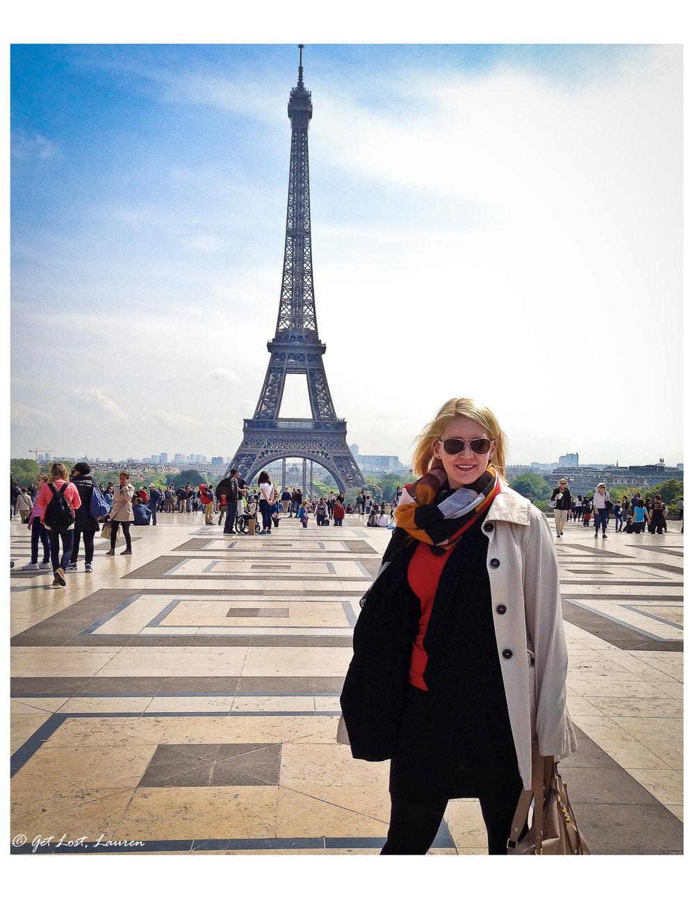 Requisite selfie from the Trocadero.