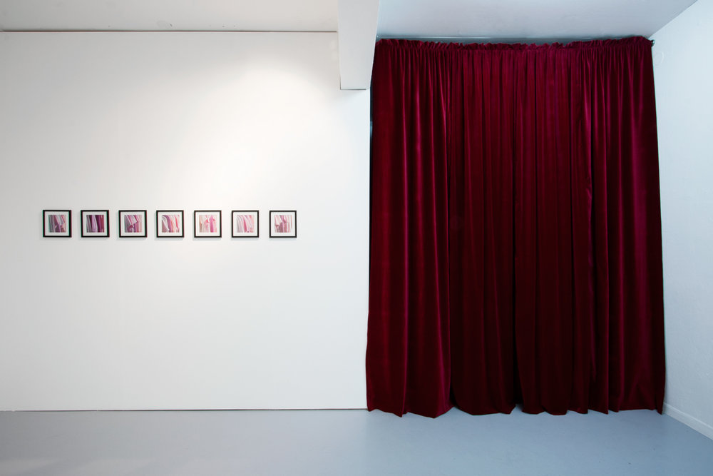 Installation view (front room) including  Wardrobe for Betty , KHM Gallery, Malmö, 2011