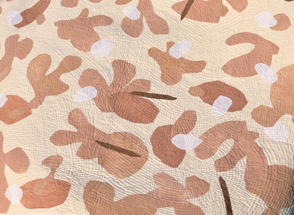'Thallus' quilt detail