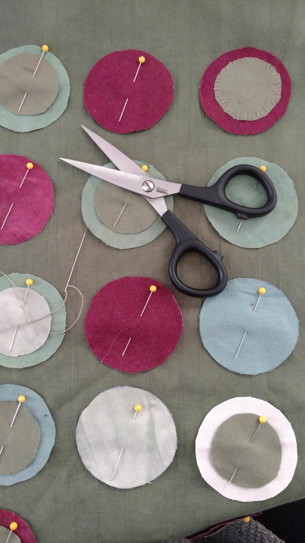 Stitching experiments.