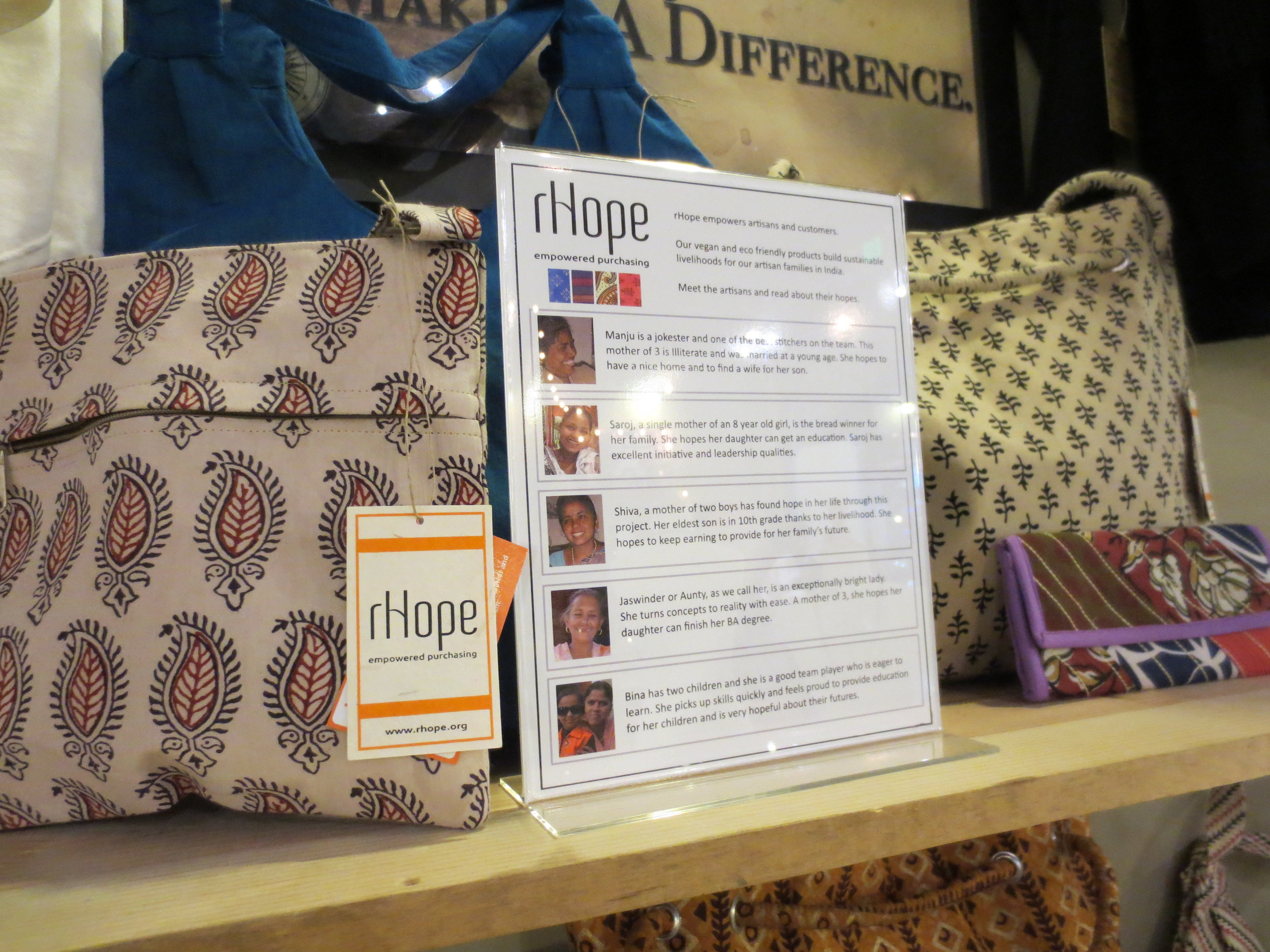 rHope display at Convergence