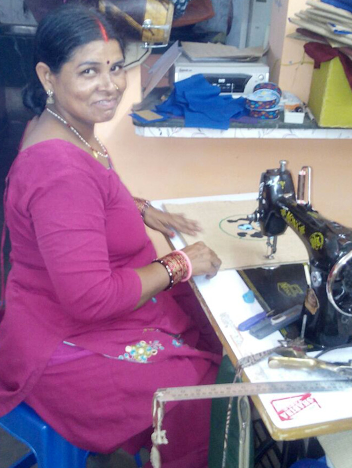 Manju Making Fair Trade Bag