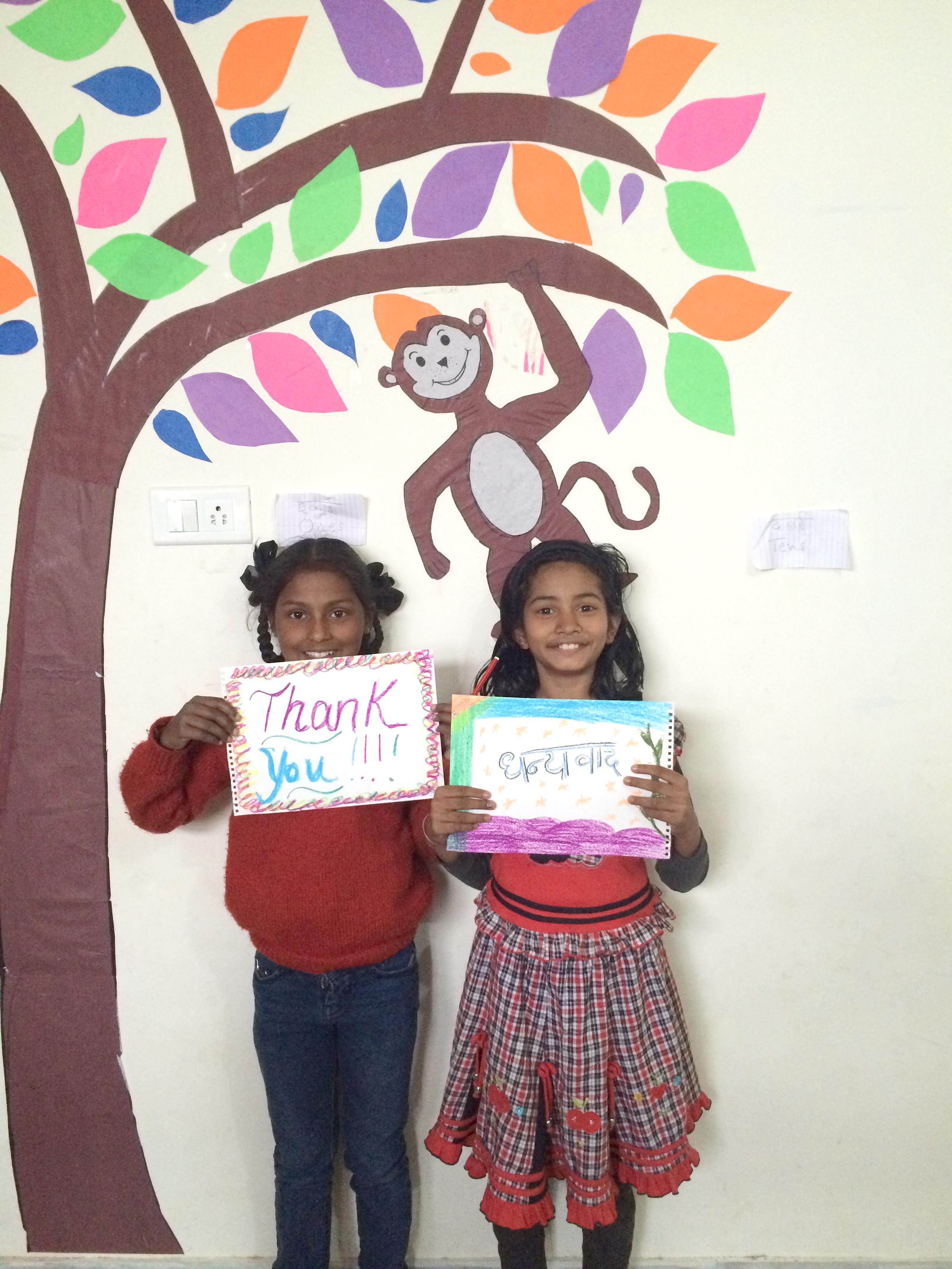 Chhoti si Asha library donation