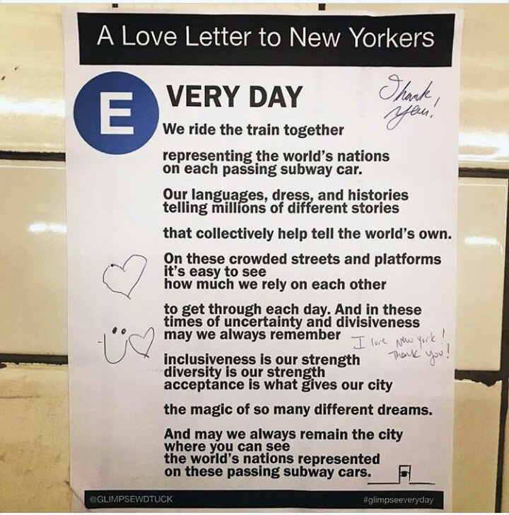 GLIMPSEEVERYDAY ITEMS SERIES NYC #glimpseeveryday HAPPENING NOW!