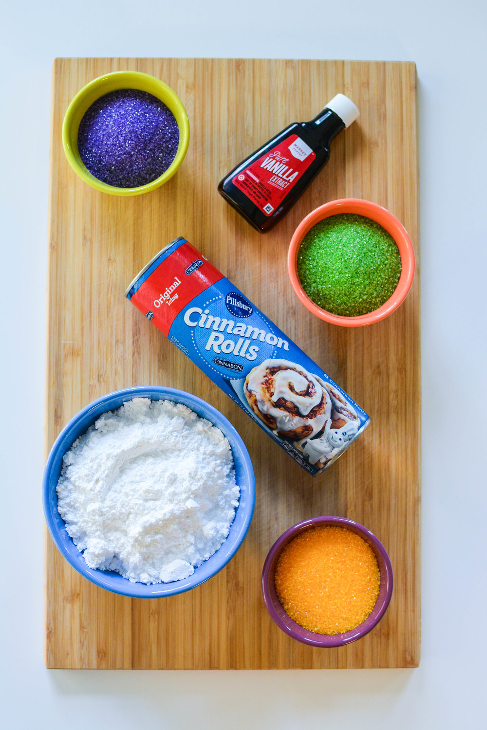 King Cake Donut ingredients