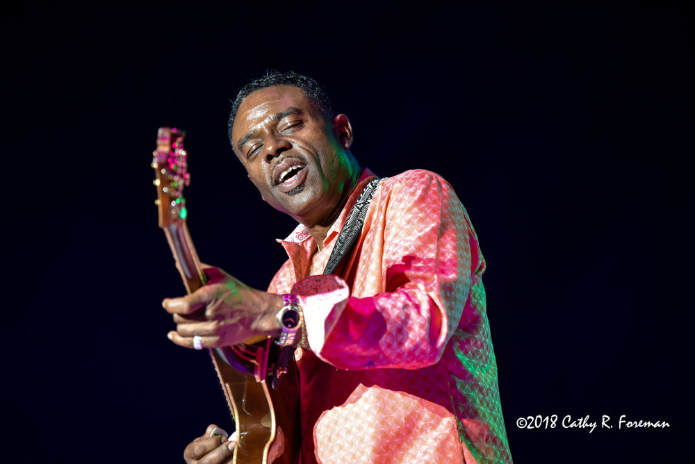 Norman Brown at 2018 Queen City Jazz Festival by Cathy R. Foreman