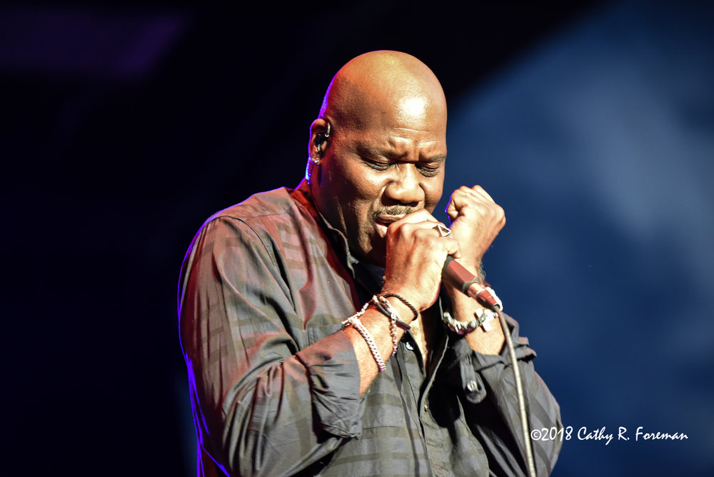 Will Downing at 2018 Queen City Jazz Festival by Cathy R. Foreman