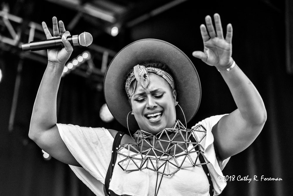 Deva Mahal at the 2018 Richmond Jazz Festival - Image by: Cathy R. Foreman