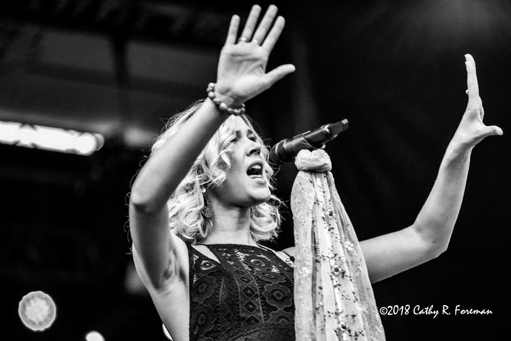 Joss Stone at the 2018 Richmond Jazz Festival - Image by: Cathy R. Foreman
