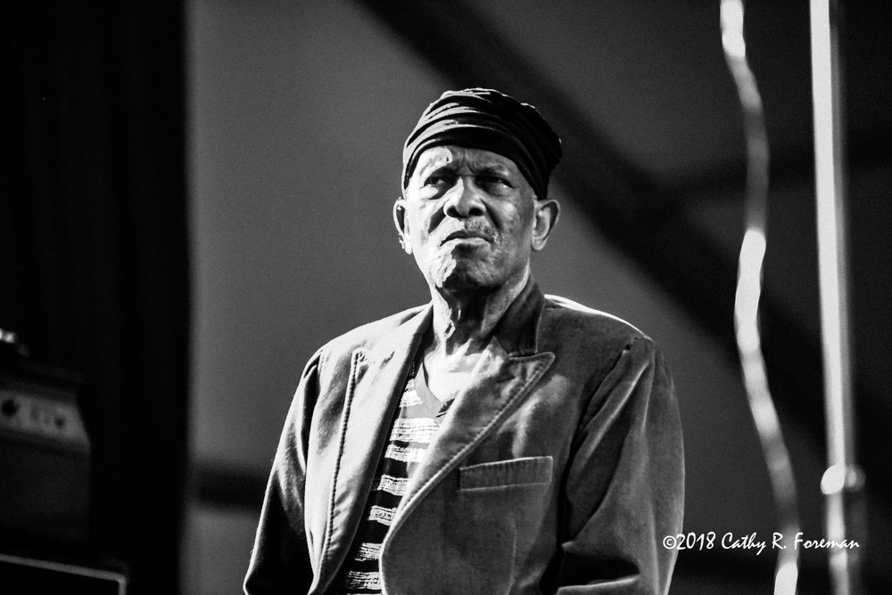 Roy Ayers at the 2018 Richmond Jazz Festival - Image by: Cathy R. Foreman