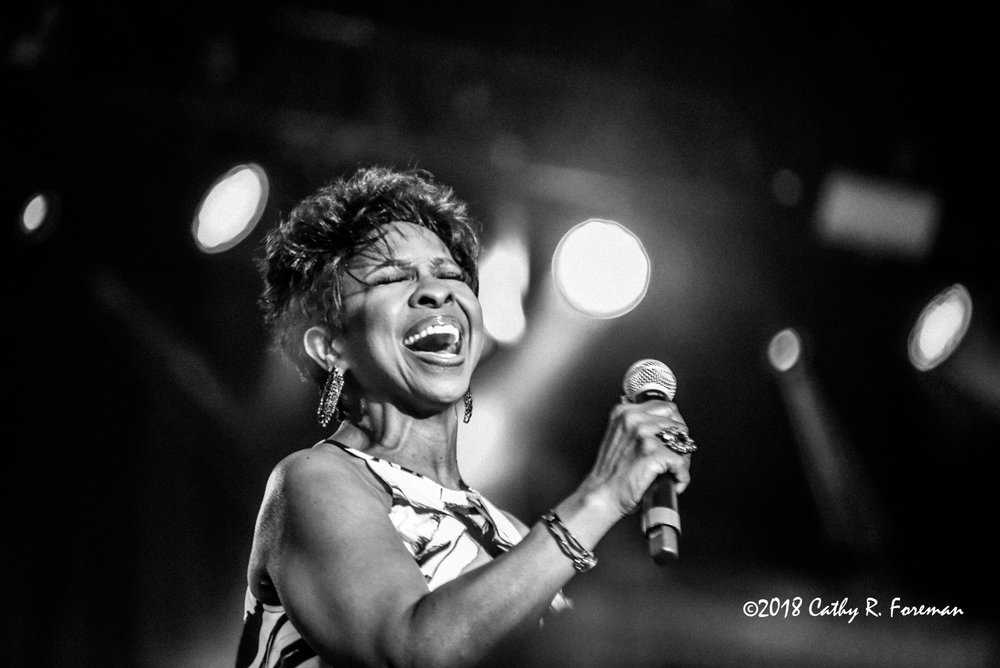 Gladys Knight at the 2018 Richmond Jazz Festival - Image by: Cathy R. Foreman
