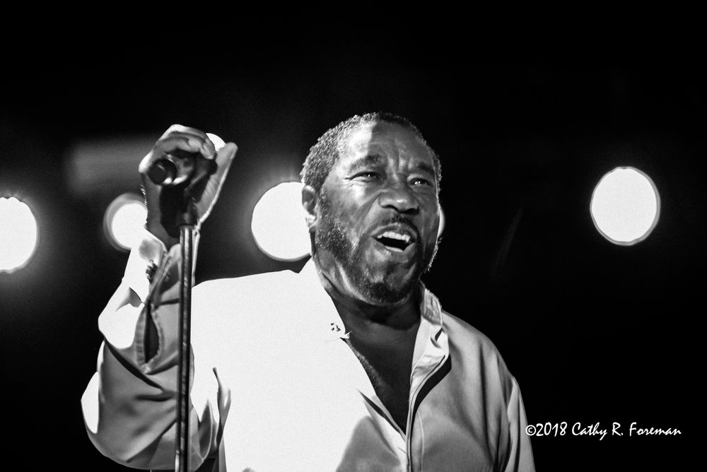 The O'Jays at the 2018 Richmond Jazz Festival - Image by: Cathy R. Foreman