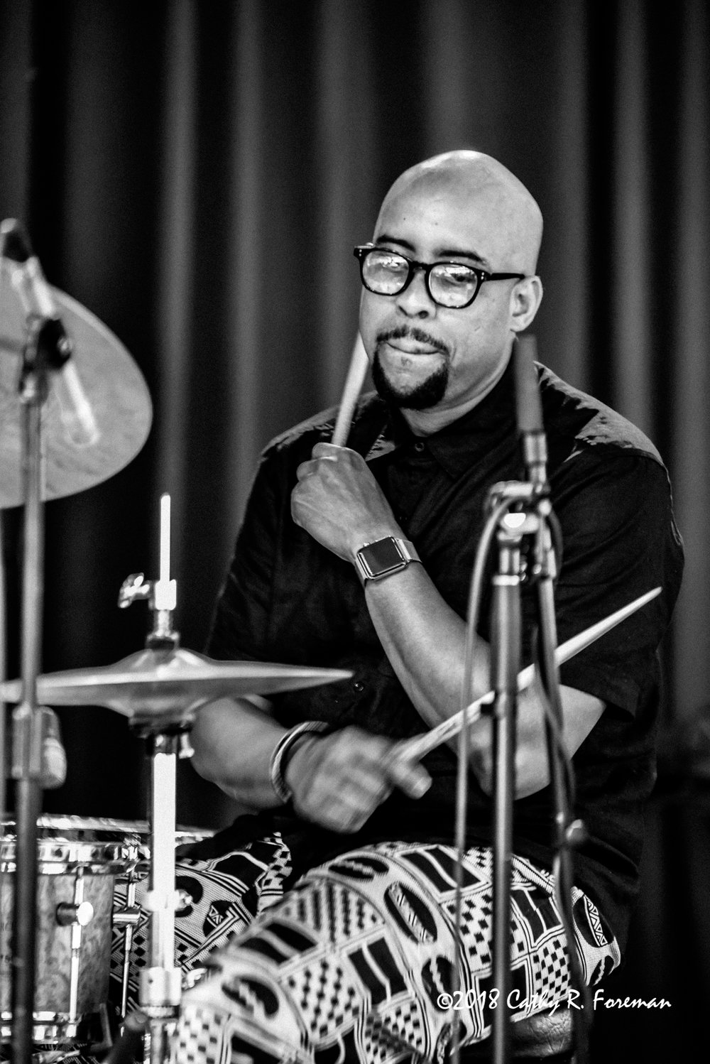Henry Conway III at the 2018 Richmond Jazz Festival - Image by: Cathy R. Foreman