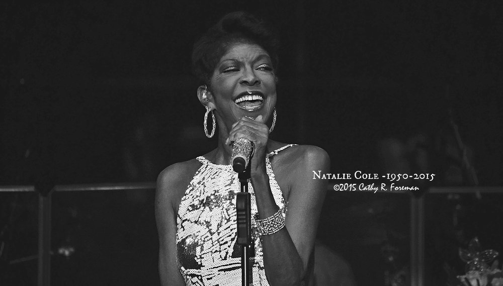 Natalie Cole at the RVA Jazz Festival in 2015. Image by: Cathy R. Foreman