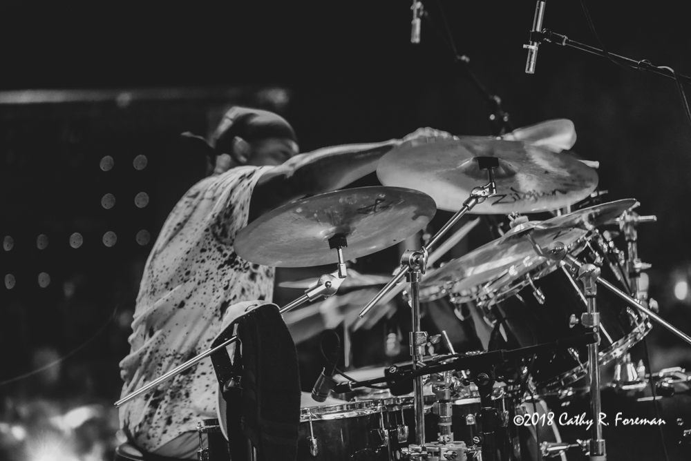 Sonny Emory on the Drums | image by: Cathy R. Foreman