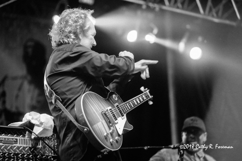 Lee Ritenour on the Guitar | image by: Cathy R. Foreman