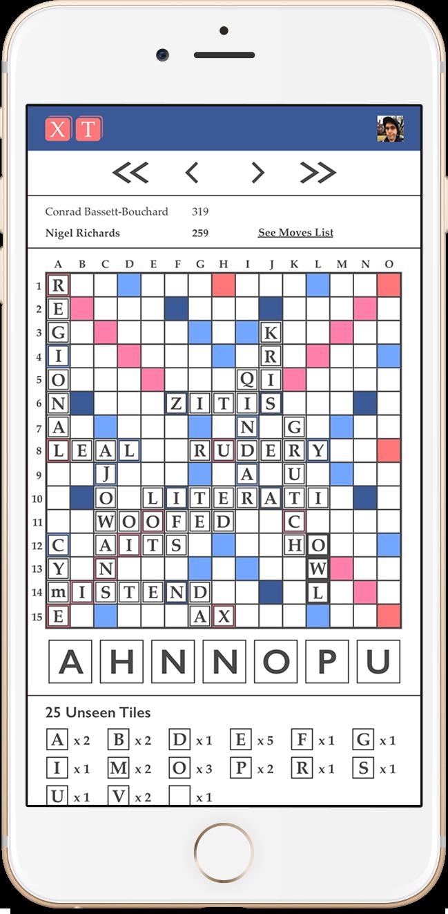Scrabble literai