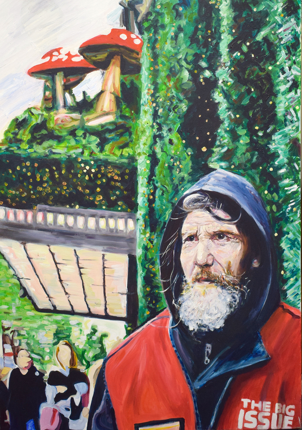 Brian, 2014 | Oil on canvas | 70 x 100 cm | £600