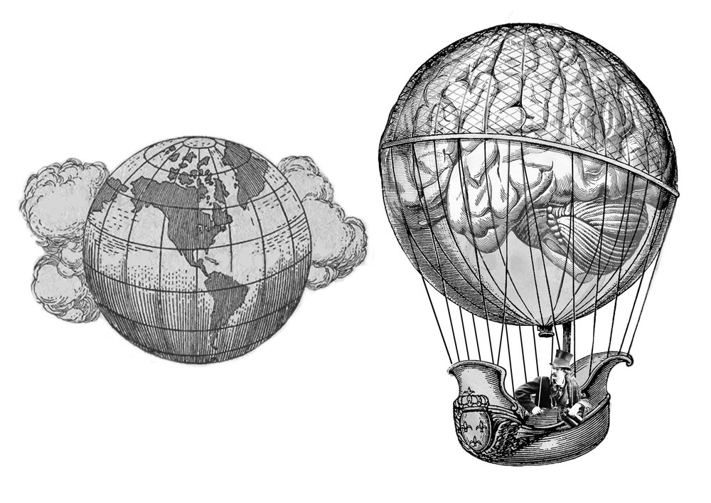 The external world and your mind are separate from each other.