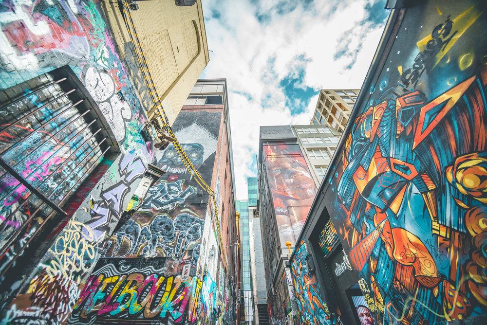 Street Art - Hosier Lane.