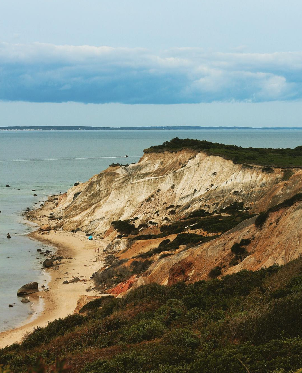 The cliffs at Gayhead