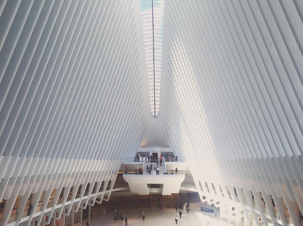 The Oculus At World Trade Center
