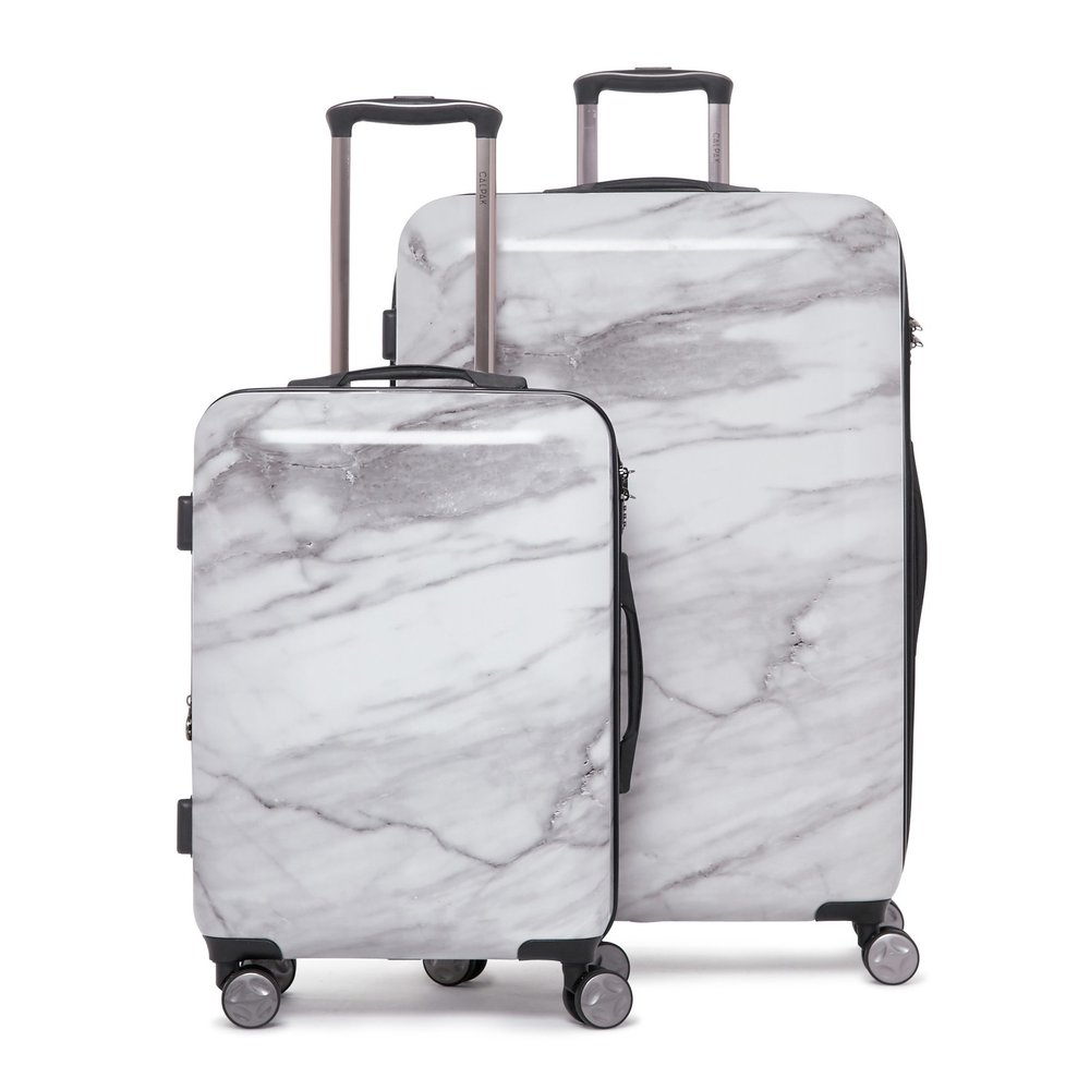 Calpak ASTYLL - MILK MARBLE - 2-PIECE SET