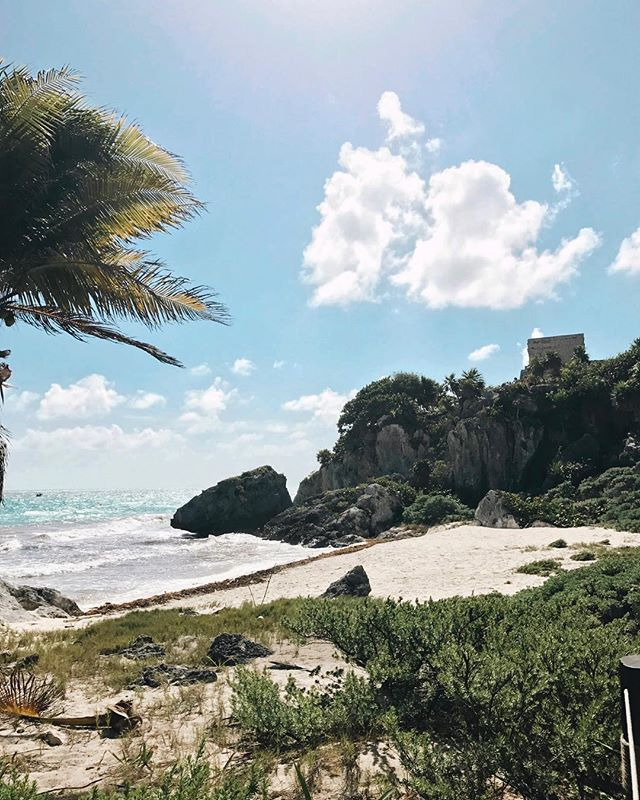 It's currently 0 degrees Fahrenheit in my current location. What I wouldn't give to be instantly transported back to Tulum right now 🥶🥶🥶