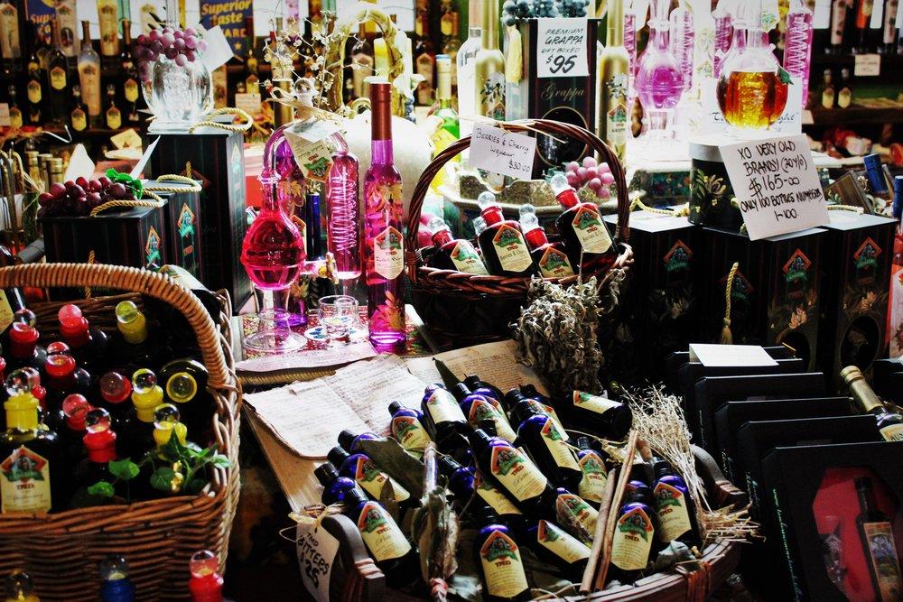liqueur and wine tasting Tamborine
