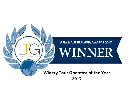 """Wine Tour Operator of the year, 2017"""