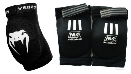 Venum Kontact and Nationman elbow pads