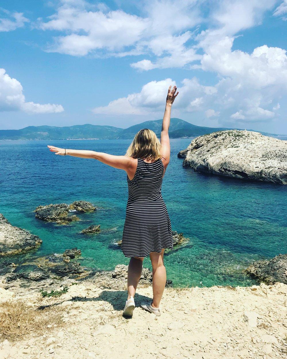 Bisevo near Vis Island, Croatia