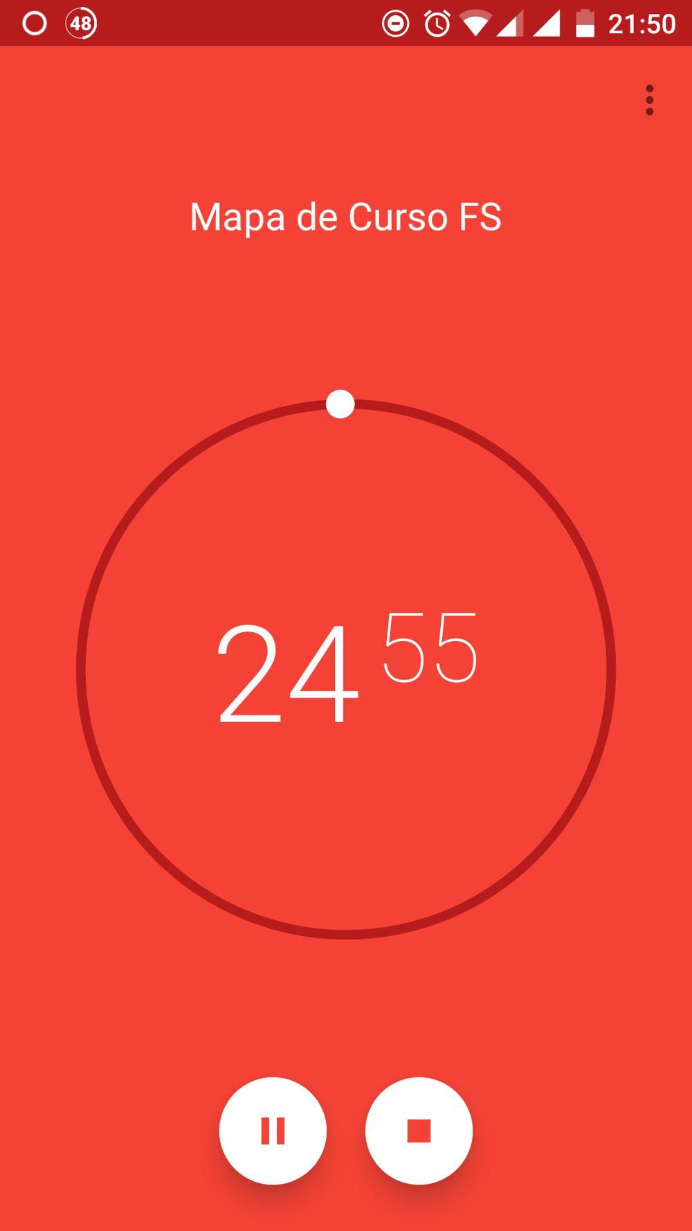 Pomodoro con ClearFocus App