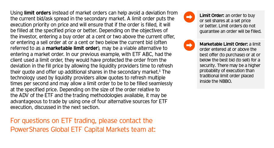 In-page glossary system:  in addition to a glossary at the end we also had call out definitions for common terms in the ETF industry