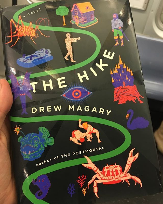 #highlyrecommended #thehike #drewmagary #awesomegift super fun fast-moving read. Unexpectedly beautiful!