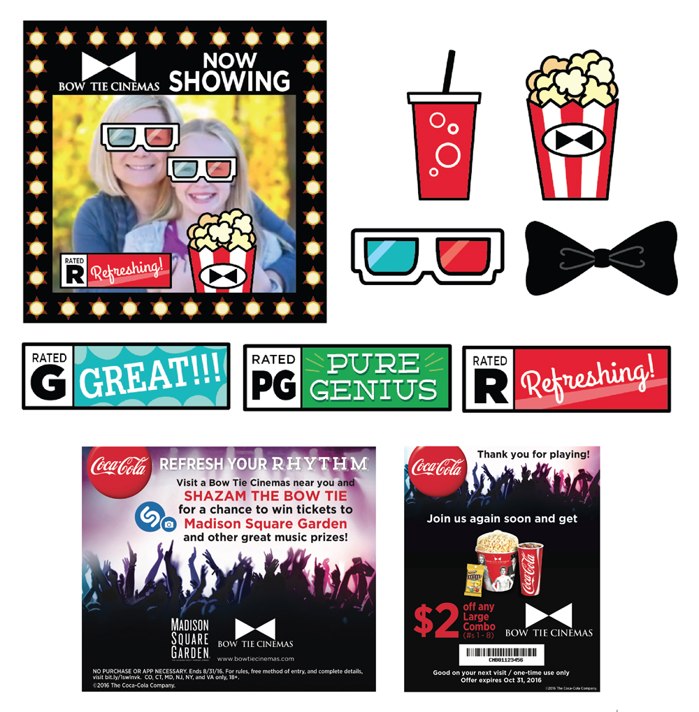 Client: Coca-Cola / Bow Tie Cinemas