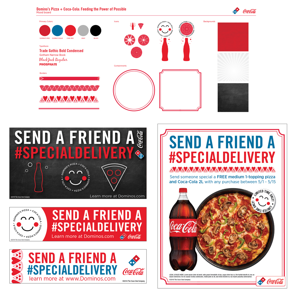 Client: Coca-Cola / Domino's Pizza