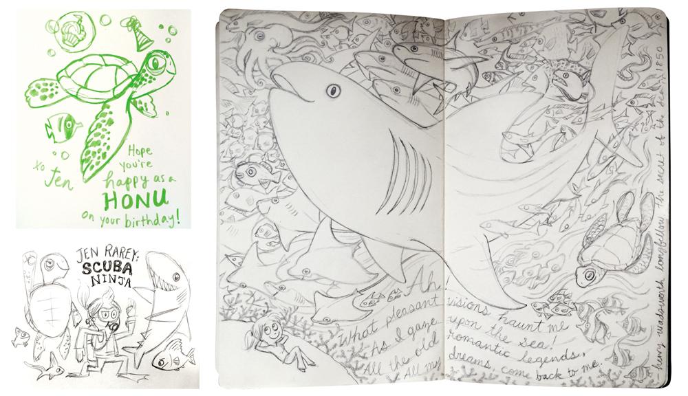 Personal Work: Sketching